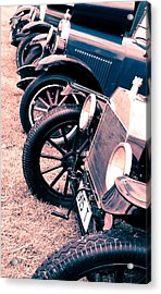 Vintage Fords Acrylic Print by Phil 'motography' Clark