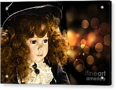 Vintage Girl Series - The Dreamer Acrylic Print