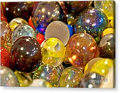Vintage Glass Marbles Acrylic Print