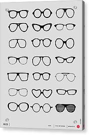 Vintage Glasses Poster 1 Acrylic Print