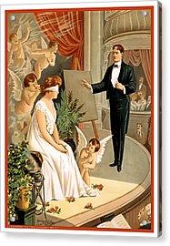 Vintage Hypnotism Acrylic Print