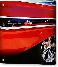 Vintage Impala Acrylic Print