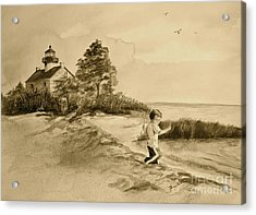 Vintage Jacob At East Point  Acrylic Print