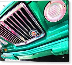 Vintage Jeep - J3000 Gladiator By Sharon Cummings Acrylic Print by Sharon Cummings