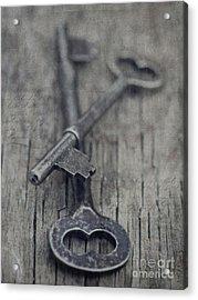 Vintage Keys Acrylic Print