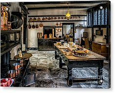 Vintage Kitchen Acrylic Print by Adrian Evans