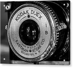 Vintage Kodak Duex Detail Acrylic Print
