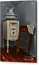 Vintage Laundry And Wash Room Acrylic Print