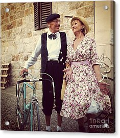 Vintage Love At L'eroica Acrylic Print