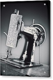 Vintage Machine Acrylic Print by Kelley King
