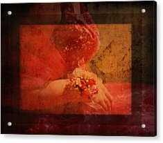 Vintage Memories Of First Love Acrylic Print