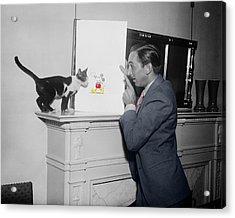 Vintage Mickey Mouse Acrylic Print