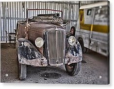 Vintage Morris Commercial Acrylic Print by Douglas Barnard