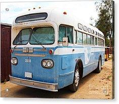 Vintage Passenger Bus 5d28384 Acrylic Print