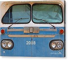 Vintage Passenger Bus 5d28398 Acrylic Print