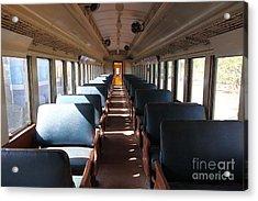 Vintage Passenger Train 5d28306 Acrylic Print