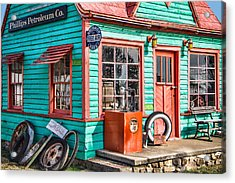 Vintage Phillips 66 Gas Acrylic Print