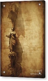 Vintage Photo Of Duomo Architecture Acrylic Print by Evgeny Kuklev