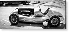 Acrylic Print featuring the photograph Vintage Racing Car by Gianfranco Weiss