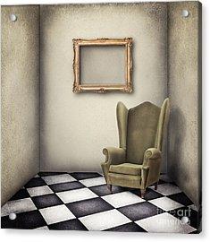Vintage Room Acrylic Print by Jelena Jovanovic