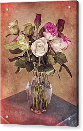 Vintage Roses Acrylic Print