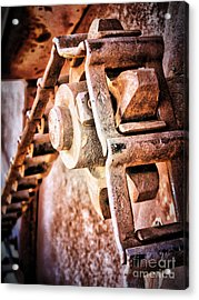Vintage Rust Acrylic Print by Pam Vick