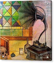 Vintage Acrylic Print by Ryan Burton