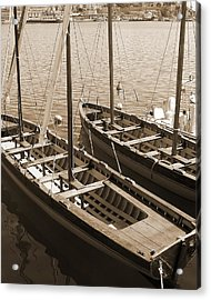 Vintage Sail Acrylic Print by Tamyra Crossley