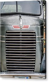 Acrylic Print featuring the photograph Vintage Semi-truck by Dawn Romine