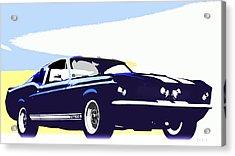 Vintage Shelby Gt500 Acrylic Print by Bob Orsillo