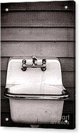 Vintage Sink Acrylic Print by Olivier Le Queinec