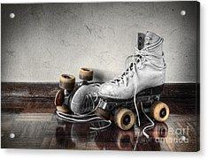 Vintage Skates Acrylic Print by Carlos Caetano