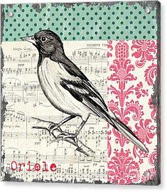 Vintage Songbird 2 Acrylic Print