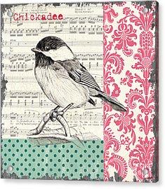 Vintage Songbird 3 Acrylic Print