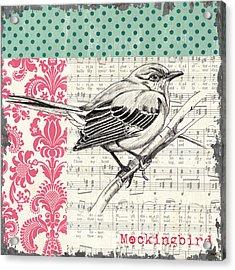 Vintage Songbird 4 Acrylic Print