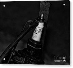Vintage Spark Plug  6  Acrylic Print by Wilma  Birdwell