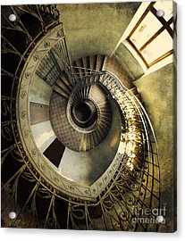 Vintage Spiral Staircase Acrylic Print