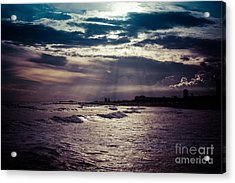 Vintage Sunset Acrylic Print by Will Cardoso