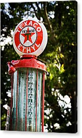 Vintage Texaco Gas Pump Acrylic Print
