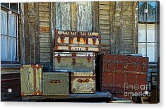 Vintage Trunks   Sold Acrylic Print