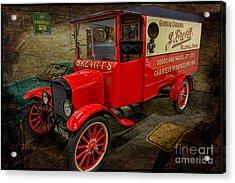 Vintage Van Acrylic Print by Adrian Evans