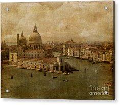 Vintage Venice Acrylic Print by Lois Bryan