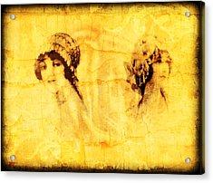 Vintage Victorian Rivals I Acrylic Print