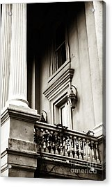 Vintage View In Charleston Acrylic Print by John Rizzuto