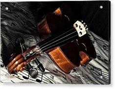 Vintage Violin Acrylic Print