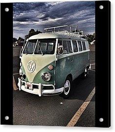 Vintage Volkswagen Bus 1 Acrylic Print
