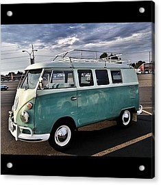 Vintage Volkswagen Bus 2 Acrylic Print