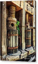 Vintage Wine Press Acrylic Print