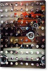 Vintagecars2 Acrylic Print by Irmari Nacht