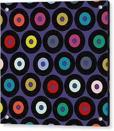 Vinyl Violet Acrylic Print